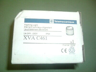 Telemecanique Xva C461 Flashing Blue Beacon ...rs 190 686 ........ New  Packaged
