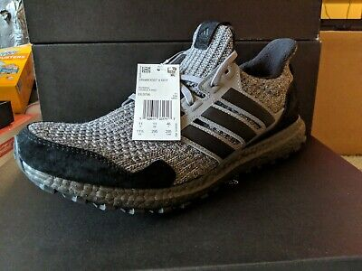 da9dc85ce0a3b Adidas Ultra Boost Game of Thrones House Stark Sizes 11.5 EE3706 New In Hand
