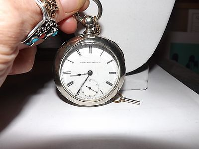 """Elgin Pocket Watch 7 Jewels """"Works Perfect"""" Very Rare Antique """"Mint Condition"""""""