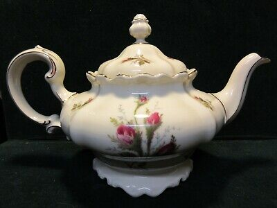 """Rosenthal Pompadour MOSS ROSE 4.5"""" Teapot with Lid    M200"""