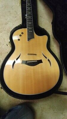 TAYLOR CUSTOM T5-C Acoustic/Electric Guitar with Case - Gently Used