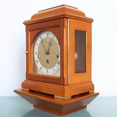 WARMINK HERMLE Mantel Wall Clock + Console! HIGH GLOSS Dutch Germany Westminster