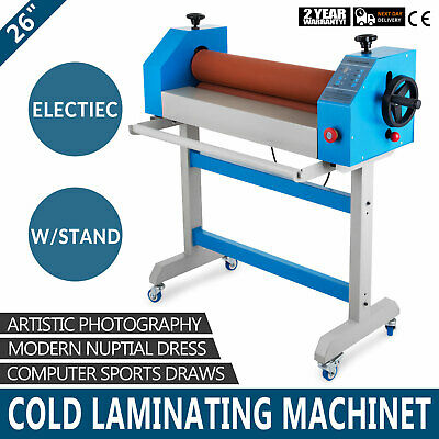 """Large Cold Electrical Laminator Machine 26"""" 650mm Posters Lamination BFT-650E"""