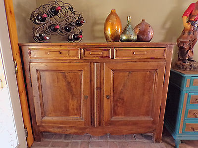 Country French Provence Chestnut Sideboard Antique French Provincial Buffet