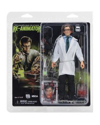 """Dr. Herbert West RE-ANIMATOR 8"""" Clothed Action figure NECA 30754 NEW SEALED"""