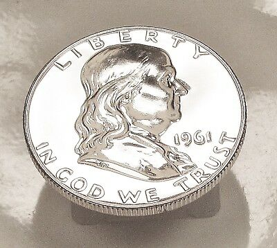 1961  Franklin   Choice  Proof   90%   Silver  >Coin  as  Pictured<  #921  11