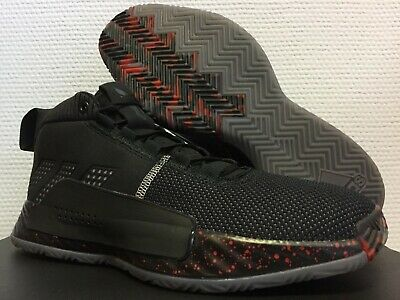 new product 09183 9434c 2019 Mens DS adidas Dame 5 BB9316 People s Champ Lillard V Black Basketball  Time