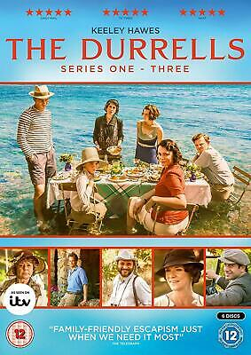 The Durrells - Series 1-3 New 6 DVD Box Set / Free Delivery