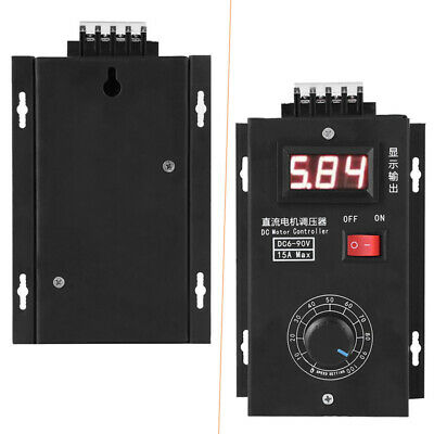 Governor DC Speed Motor Controller Module Display 15A Digital Sale Accessory