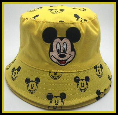 Children's Cotton Bucket Hat - Mickey