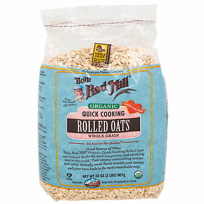 Organic Quick Cooking Rolled Oats Whole Grain (2 lbs.)