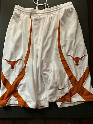 163a4528823 Vtg Nike Authentic Texas Longhorns NCAA Basketball Shorts Embroidered Size  XXl