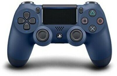 Sony DualShock 4 Wireless Controller: Midnight Blue for PlayStation 4