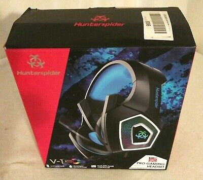 Hunterspider V1 Stereo Gaming Headset, w/ Mic,  PS4 Slim Pro, Xbox One, PC