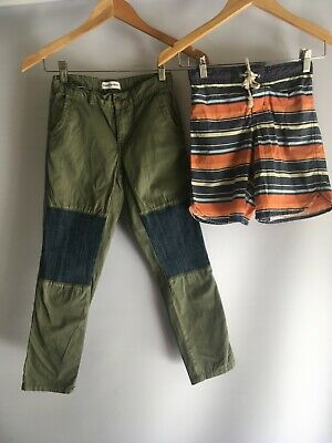 COUNTRY ROAD boys size 8 boardshorts and cargo pants