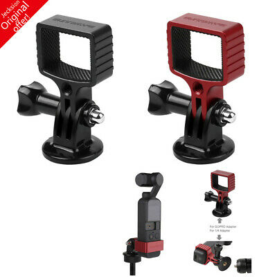 For DJI Osmo Pocket Sunnylife Metal Expanding Fixed Holder With GoPro Adapter AU