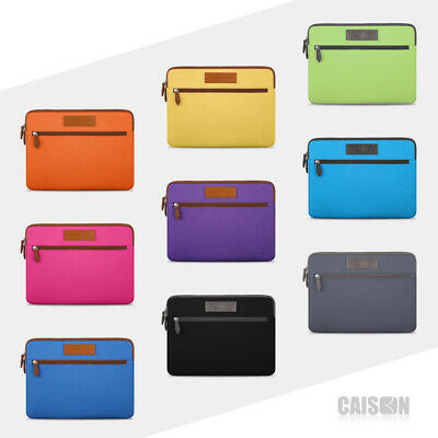 """CAISON Laptop Sleeve Case For 11/12/13.3/14/15.6"""" MacBook Ipad Pro Air Ultrabook"""