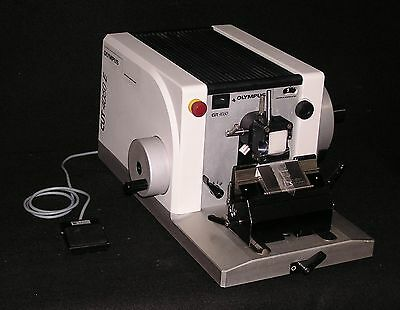Olympus Model Cut 4060E Motorized Microtome - Fully Reconditioned