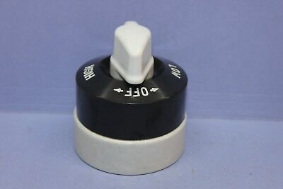 NEW Vintage Arrow Range Heater Appliance Rotary Switch - HIGH,MED,LOW,OFF