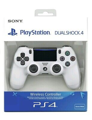 Genuine Sony Playstation PS4 DualShock 4 V2 Wireless Controller -  White - NEW