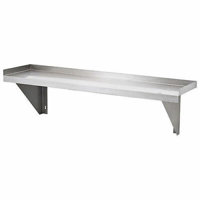 Wall Shelf, Solid, Stainless Steel, 1200x300x300mm, Kitchen Shelving / Shelves