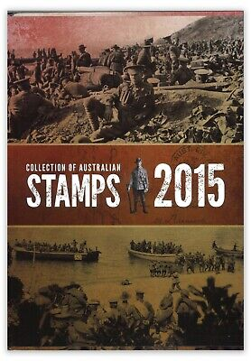 Collection of Australian Stamps 2015 Australia Post Annual Stamps Year Book MUH