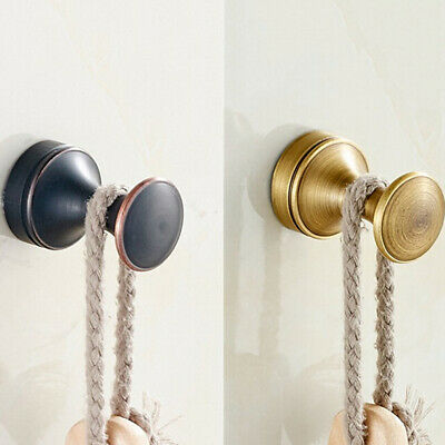 European New  Hook High Quality Brass Gold Bathroom Coat Hook Wall Mount B