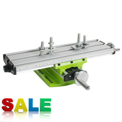 Useful Milling Machine Cross Sliding Table Vise For DIY Lathe Bench Drill