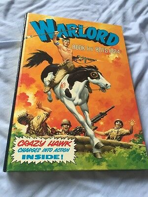 WARLORD FOR BOYS 1984 (Mint Condition) *** UNCLIPPED ***