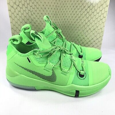 newest collection a91e8 dcffb Nike Kobe AD Exodus Basketball Shoes Green Strike AR5515 301 Men s Size 12  New