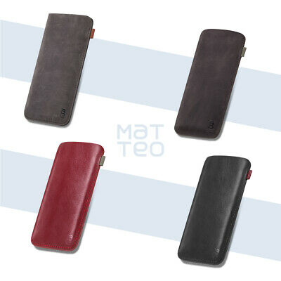 Genuine Leather Mobile Phone Slip Case For HUAWEI P30 Pro SAMSUNG Galaxy S9 Plus