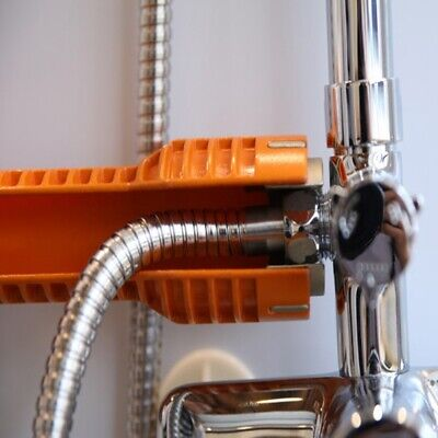Faucet and Sink Installer Install Tool Kitchen Bathroom Orange Durable new