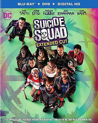 Suicide Squad - Blu Ray 4K + Blu Ray Neuf Sous Cello