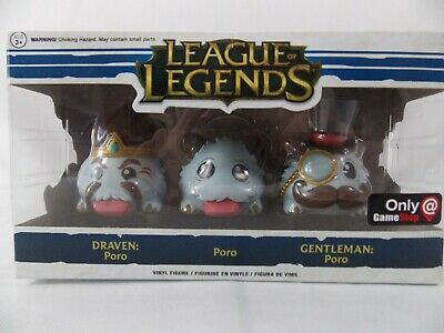 Funko League Of Legends Poro Vinyl Figure 3-Pack Gamestop Exclusive