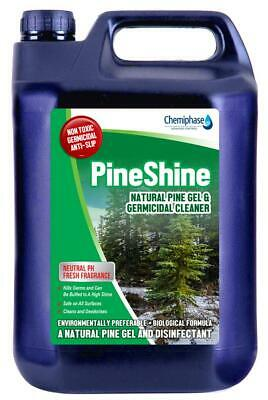 Pine Shine - Germicidal Pine Gel which Cleans, Degreases with Fresh Fragrance 5L