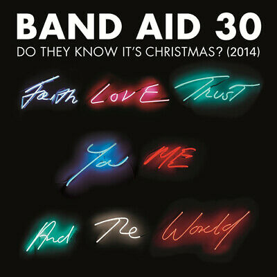 Band Aid 30 : Do They Know It's Christmas? (2014) CD Single (2014) ***NEW***