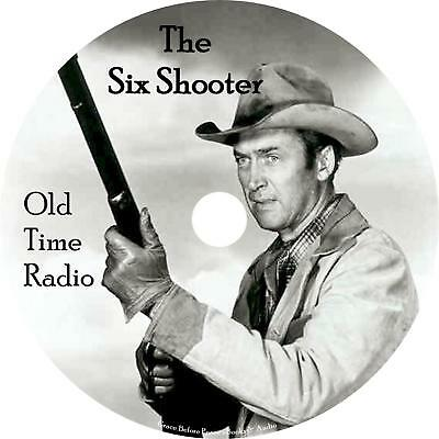 Six Shooter Old Time Radio Show OTR 40 Episodes on 1 MP3 CD Free Shipping
