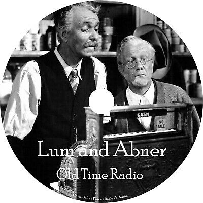 Lum & Abner Old Time Radio Shows OTR 1701 Episodes on 2 MP3 DVDs Free Shipping