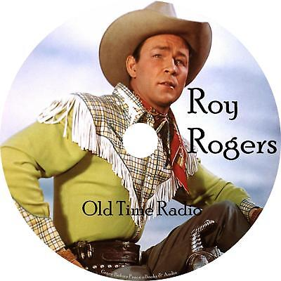Roy Rogers Old Time Radio Shows OTR Westerns 82 Episodes on 1 MP3 DVD Free Ship
