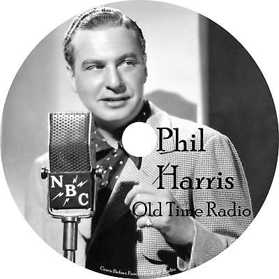 Phil Harris Old Time Radio Shows OTR 244 Episodes on 1 MP3 DVD Free Shipping
