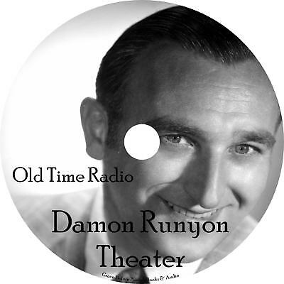 Damon Runyon Old Time Radio Shows OTR 52 Episodes on 1 MP3 DVD Free Shipping