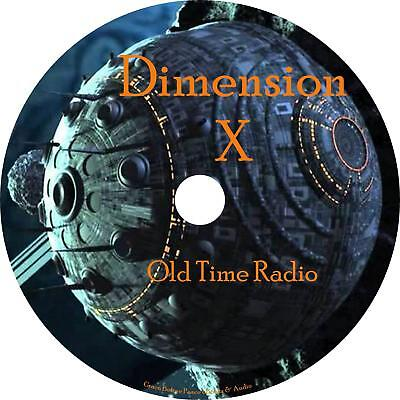Dimension X Old Time Radio Sci-Fi Show OTR 52 Episode on 25 Audio CDs Free Ship