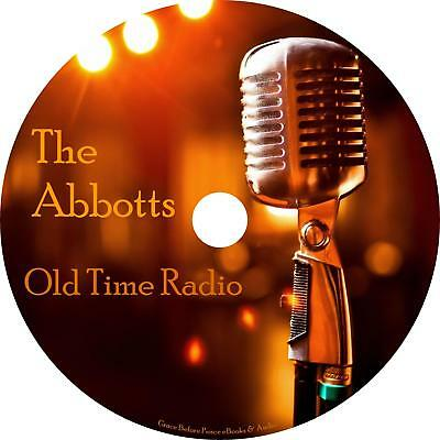 The Abbotts Old Time Radio Shows OTR 18 Episodes on 1 MP3 DVD Free Shipping