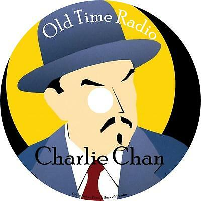 Charlie Chan Old Time Radio Shows OTR 50 Episodes on 1 MP3 CD Free Shipping