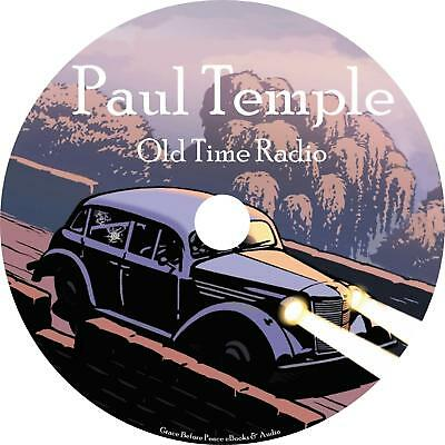 Paul Temple Old Time Radio Show OTR 100 Episodes on 1 MP3 CD Free Shipping