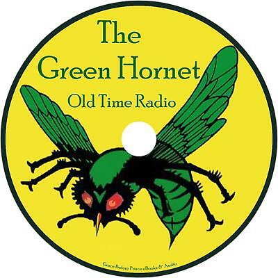 Green Hornet Old Time Radio Shows OTR 208 Episodes on 1 MP3 DVD Free Shipping