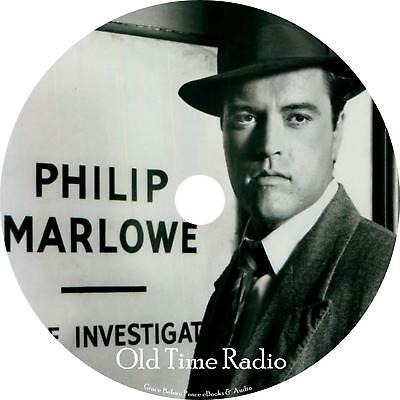 Philip Marlowe Old Time Radio Shows OTR 109 Episodes on 1 MP3 DVD Free Shipping