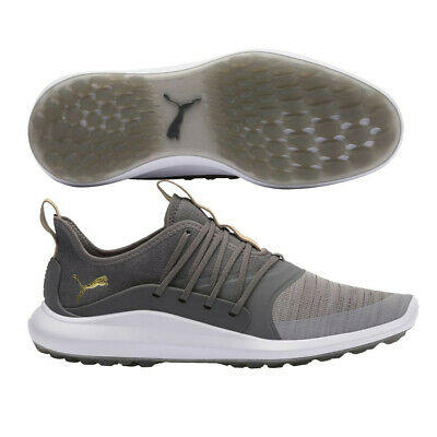 NEW MENS PUMA Ignite NXT SOLELACE Golf Shoes OliveSilver