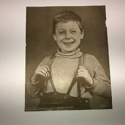 His First Suspenders from 1904