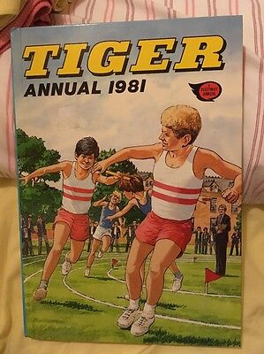 TIGER 1981 ANNUAL (EXCELLENT CONDITION) *** Unclipped ***